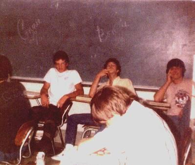 Last day of school  1984 Hamilton, Al., High School