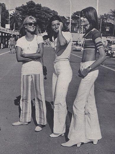 Vintage retro  girls fashions