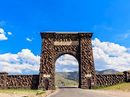 Theodore Roosevelt Arch near Gardiner, Montana