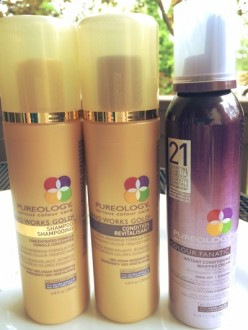 A review of new, luxurious hair care products from Pureology