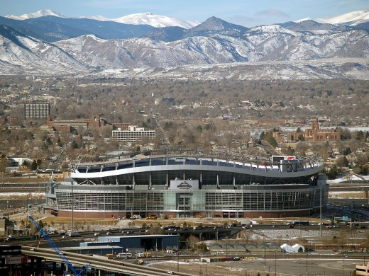 Mile High Stadium is a beautiful home to two of our sports teams, the Denver Broncos and the Colorado Outlaws.