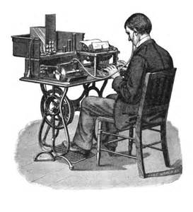 Dictating via a phonograph