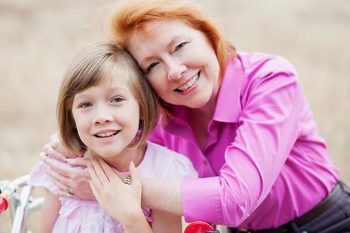 Debbie Fragner with daughter, Maddie.