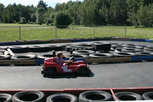 It is ideal for the younger kids to have fun and many go-kart location today will provide a separate go-kart track just for them. This track is in Rome, New York called Peter Pauls.