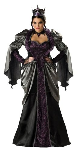Black princess costume for Halloween