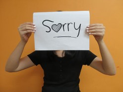 Saying Sorry to children - When and Why