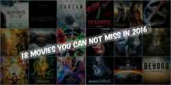 18 Big Movies You Can't Miss In 2016 (Sci Fi & Fantasy)