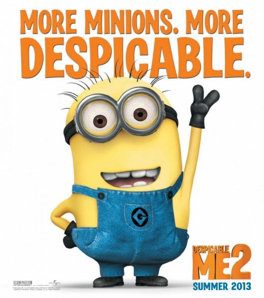 "Promotional poster for ""Despicable Me 2"""