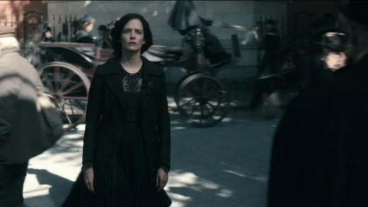 Eva Green as Vanessa Ives, series 3, screenshot