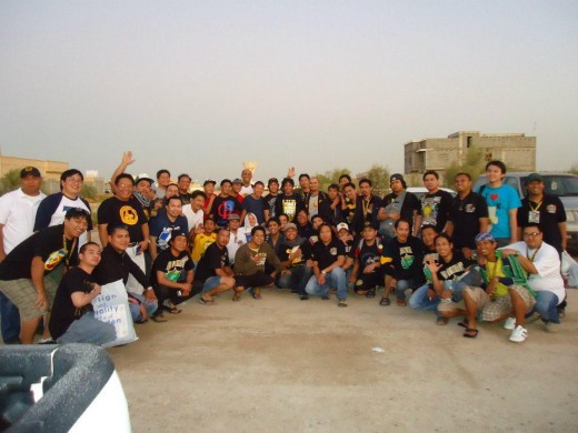 See how the members of Tau Gamma Phi Fratrenity iin Saudi Arabia gathered together as if they knew each other in the Philippines. Amazing indeed!