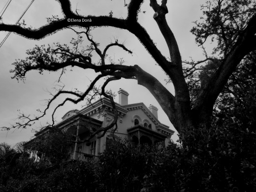 Anne Rice's house, perhaps a model for the abode of the vampire Lestat.