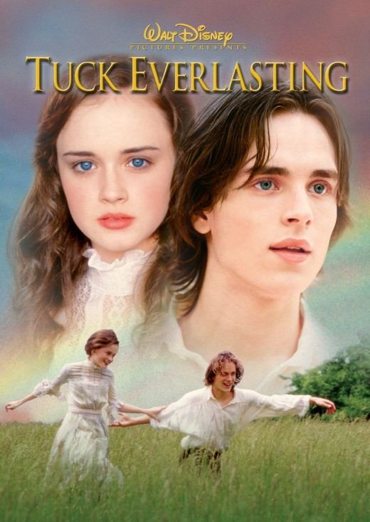 Tuck Everlasting: A lighthearted romance on the surface which will leave your heart in pieces and your mind pondering. Is love sweeter for a season or an eternity.