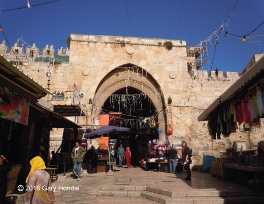 Inside Damascus Gate