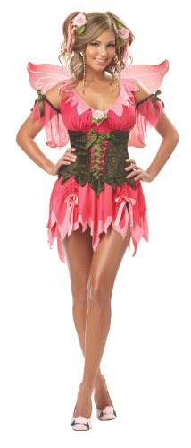 California Costumes Women's Rose Fairy Costume