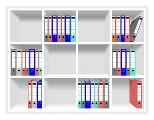 A home office storage system  for your paperwork is a necessity