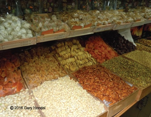 Nuts and Dried Fruits for Sale