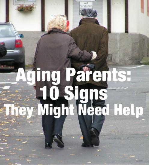 The 10 Signs Your Elderly  Parent Needs Help