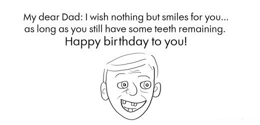 20 Funny Birthday Wishes and Quotes for Dad | Holidappy