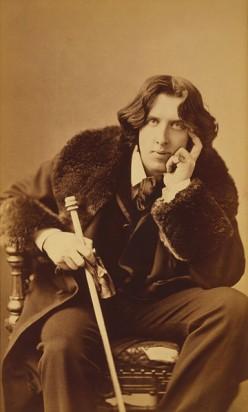 """Oscar Wilde's """"To My Wife"""""""