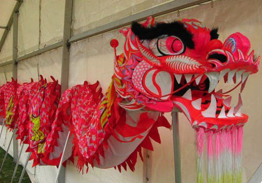 A Chinese representation of the Dragon