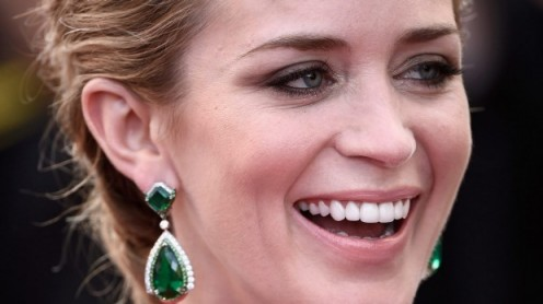"Emily Blunt has ""the"" perfect smile."