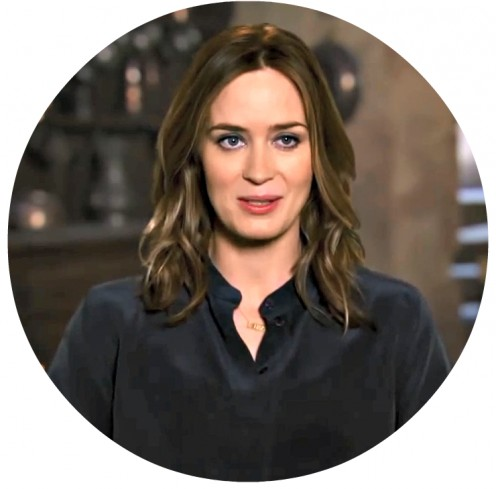 Even Emily Blunt's voice rivals the soft texture of fine silk