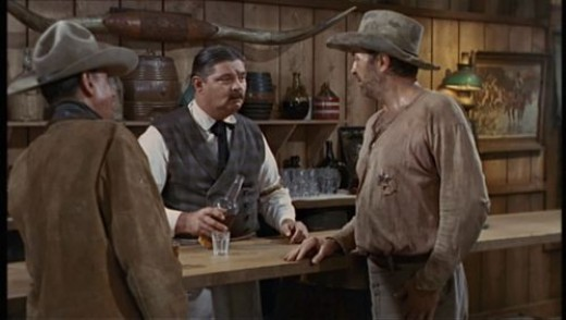 as the bartender with his brother Robert Mitchum