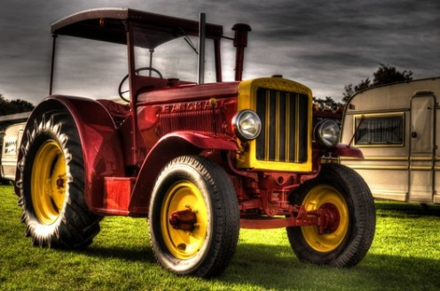 Tractors are not just good to look at, but they are a necessity for today's serious farmer