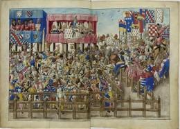 Turnierbuch des Rene von Anjou 23 by Unkowen Public Domain