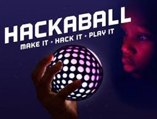 Hackaball can be kicked around like a hacky sack. The best part is that you create your ball.