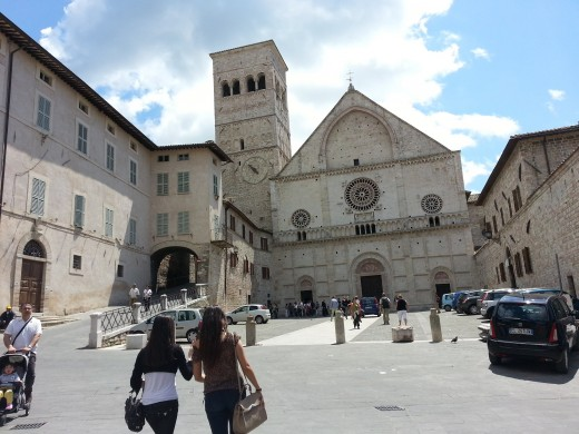 Medieval Town Of Assisi