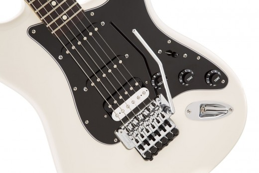 Fender's Standard HSS Stratocaster with a Floyd Rose  is a great choice for metal.