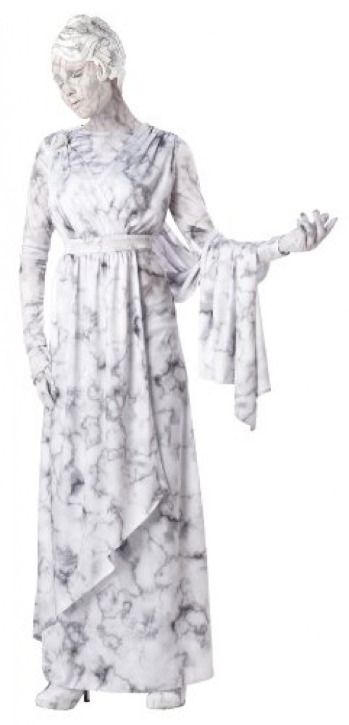 This one is perfect for those who want to be something different on Halloween. With this costume, you can be a white statue