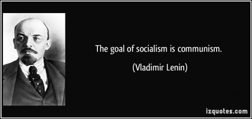 The Goal of Socialism is Communism