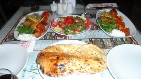A Turkish restaurant in Altinkum