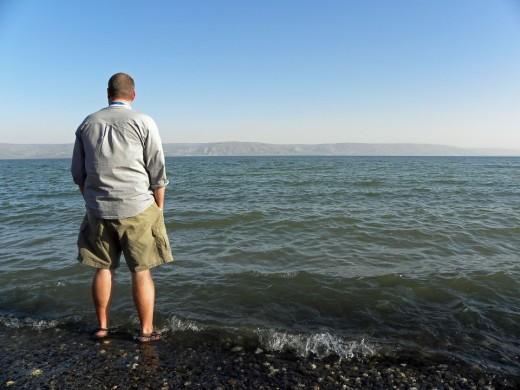 Imagine walking on water.