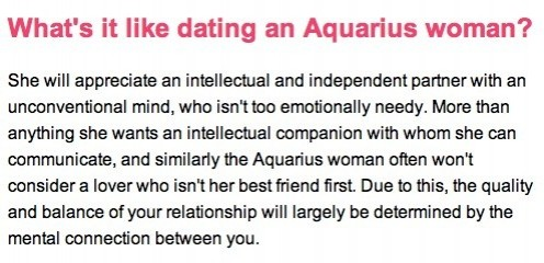 scorpio man dating an aquarius woman