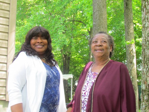 Chante's auntie Ann and Ann Dabney.