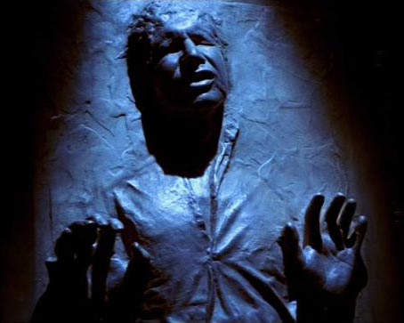 Take away the carbonite and this is exactly what Mil looks like right now!