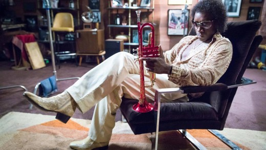 Who is cooler than Don Cheadle as Miles Davis.