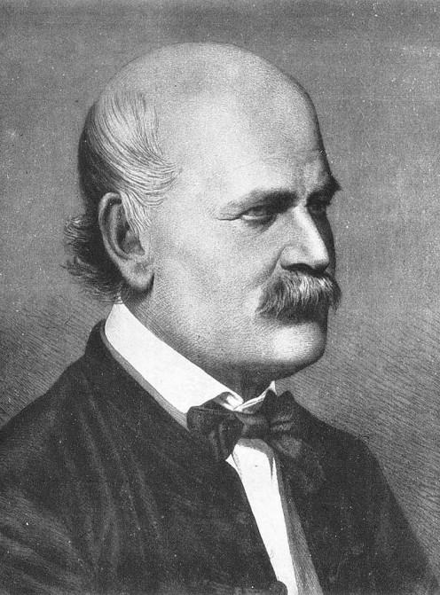 Ignaz Semelweiss, 1860