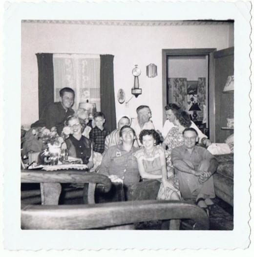 Bill's extended family