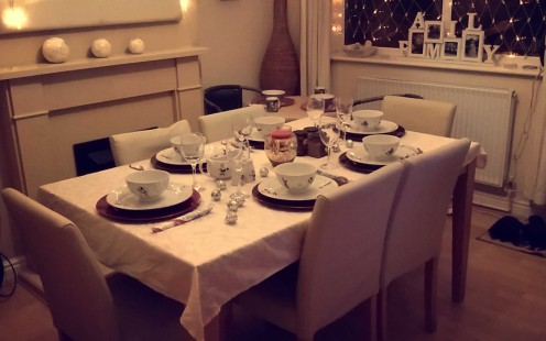 All set for Christmas dinner!