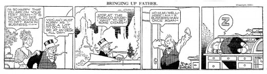 Bringing Up Father by McManus 01-11-1939