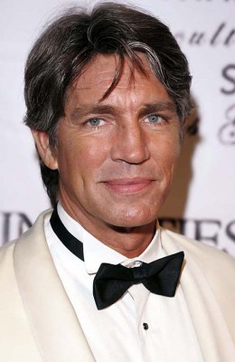 "Eric Roberts will delight audiences as ""Thomas Moritz,"" ""Bruce's"" gay friend"