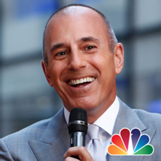 """Matt Lauer stars as himself reporting the first sighting of """"Neo Franky"""" on the Today Show"""