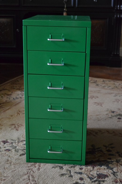 Finished with ease! Follow my step-by-step instructions to assemble your own Helmer storage cabinet.