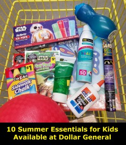 10 Summer Essentials for Kids Available at Dollar General