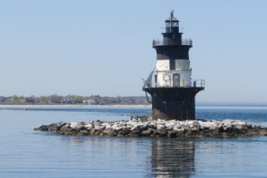Also known as the Coffee Pot Lighthouse, the cast-iron clad and brick lined Orient Point Lighthouse was marked for demolition by the Coast Guard in 1970, but was saved by public outcry.