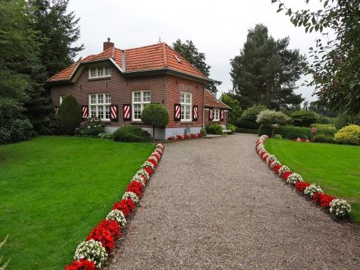 A newly renovated house.